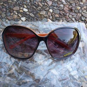Spitfire Orange and Black Sunglasses